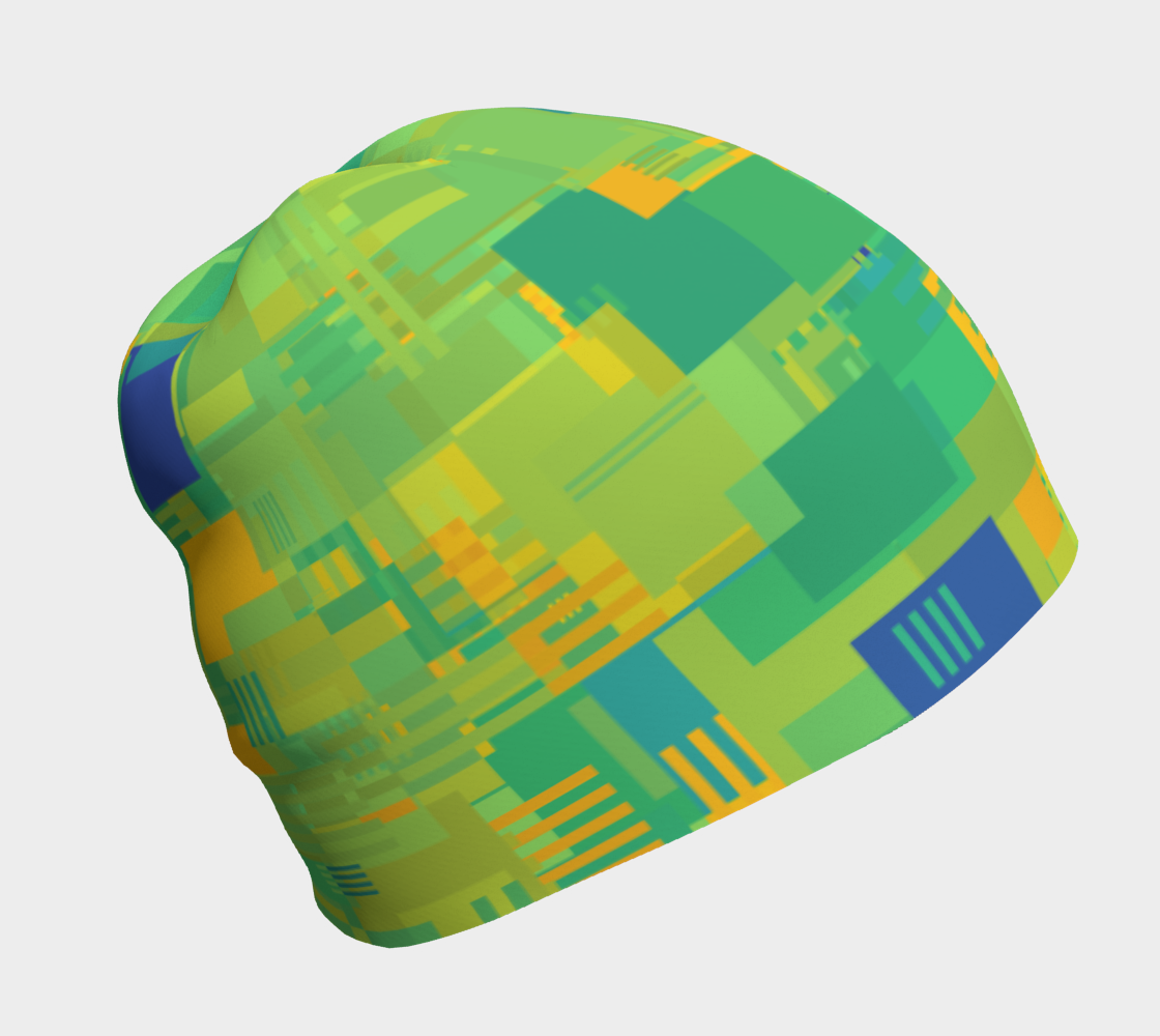Random Shapes Pattern (Green, Yellow, BLue) preview