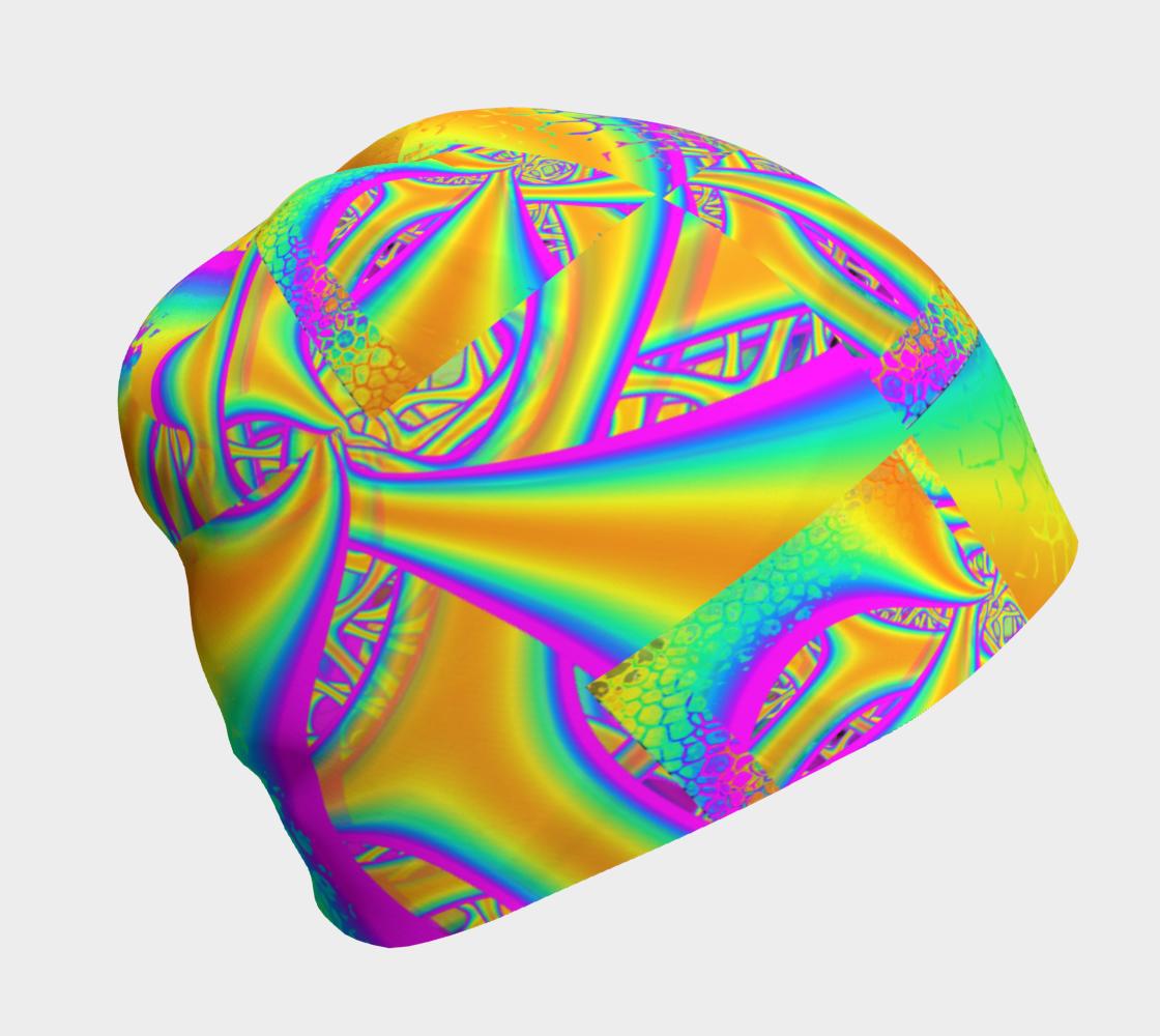Aperçu de Funkidelic Dichroic Fused Glass Fractal