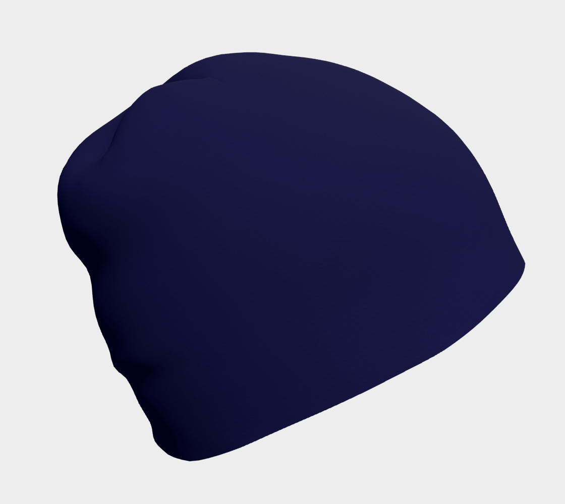 navy winter beanie preview