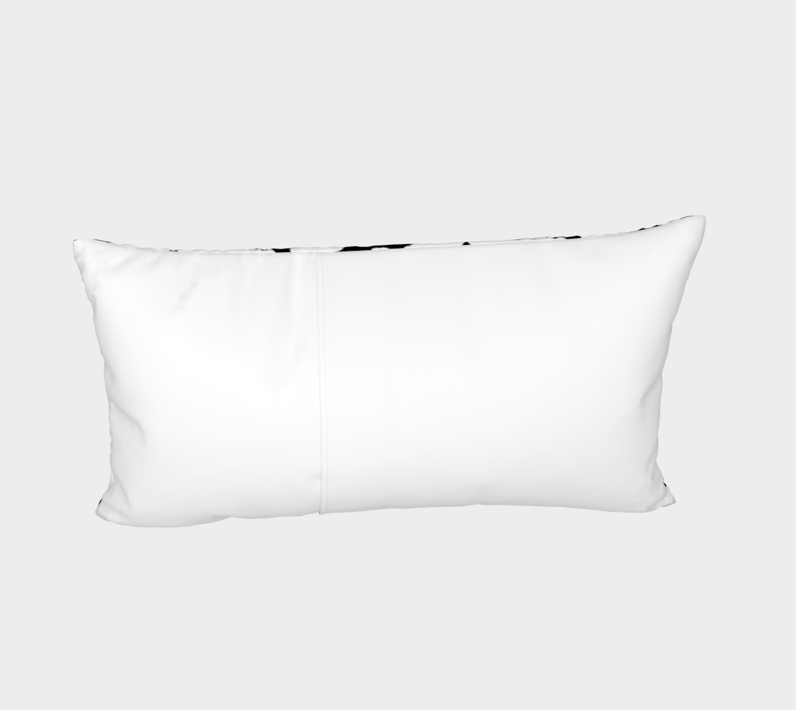 White Bats Pillow Sham preview #4