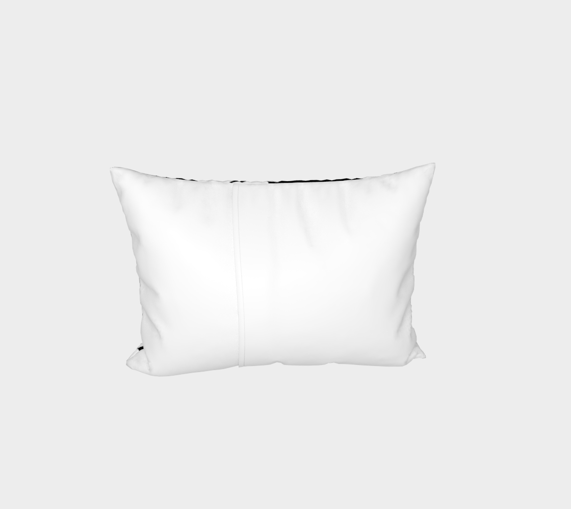 White Bats Pillow Sham preview #3