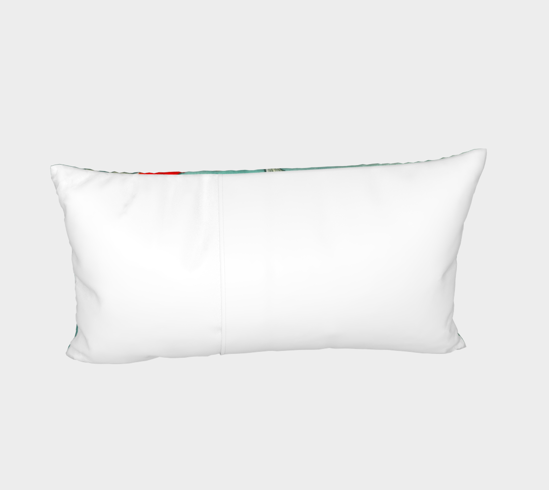 Le ballet des carpes koï Bed Pillow Sham Miniature #5