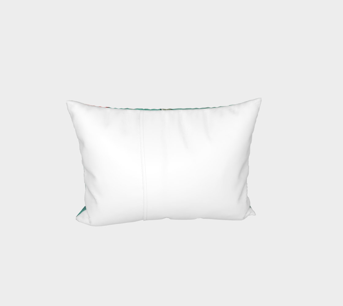 Le ballet des carpes koï Bed Pillow Sham Miniature #4