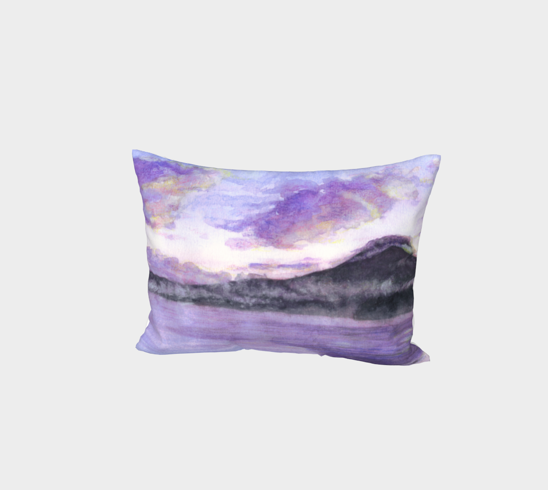 Mount Fuji Bed Pillow Sham preview #1