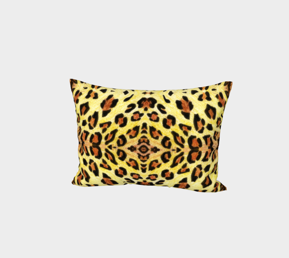 Leopard print Bed Pillow Sham preview