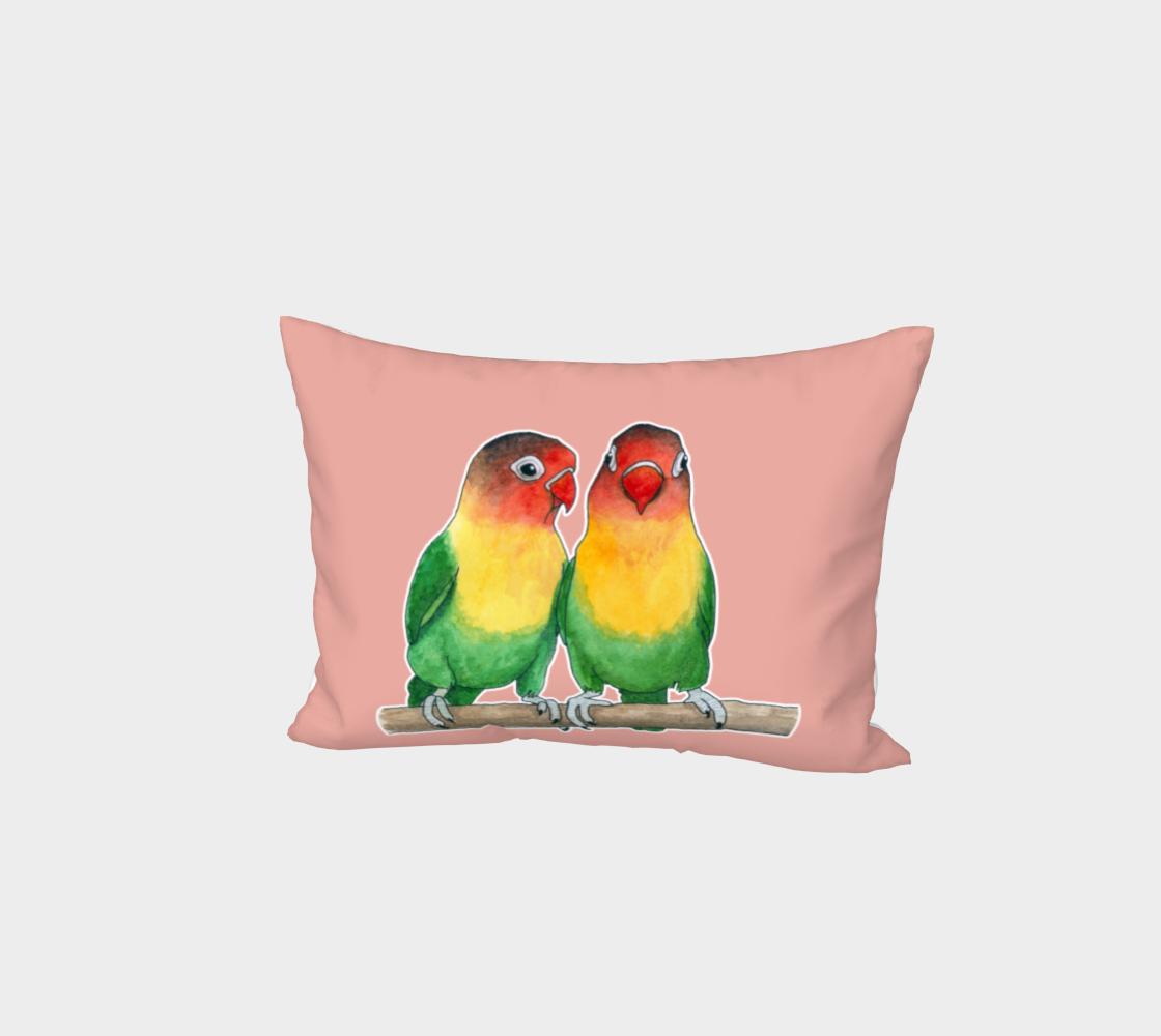 Fischer's lovebirds Bed Pillow Sham preview