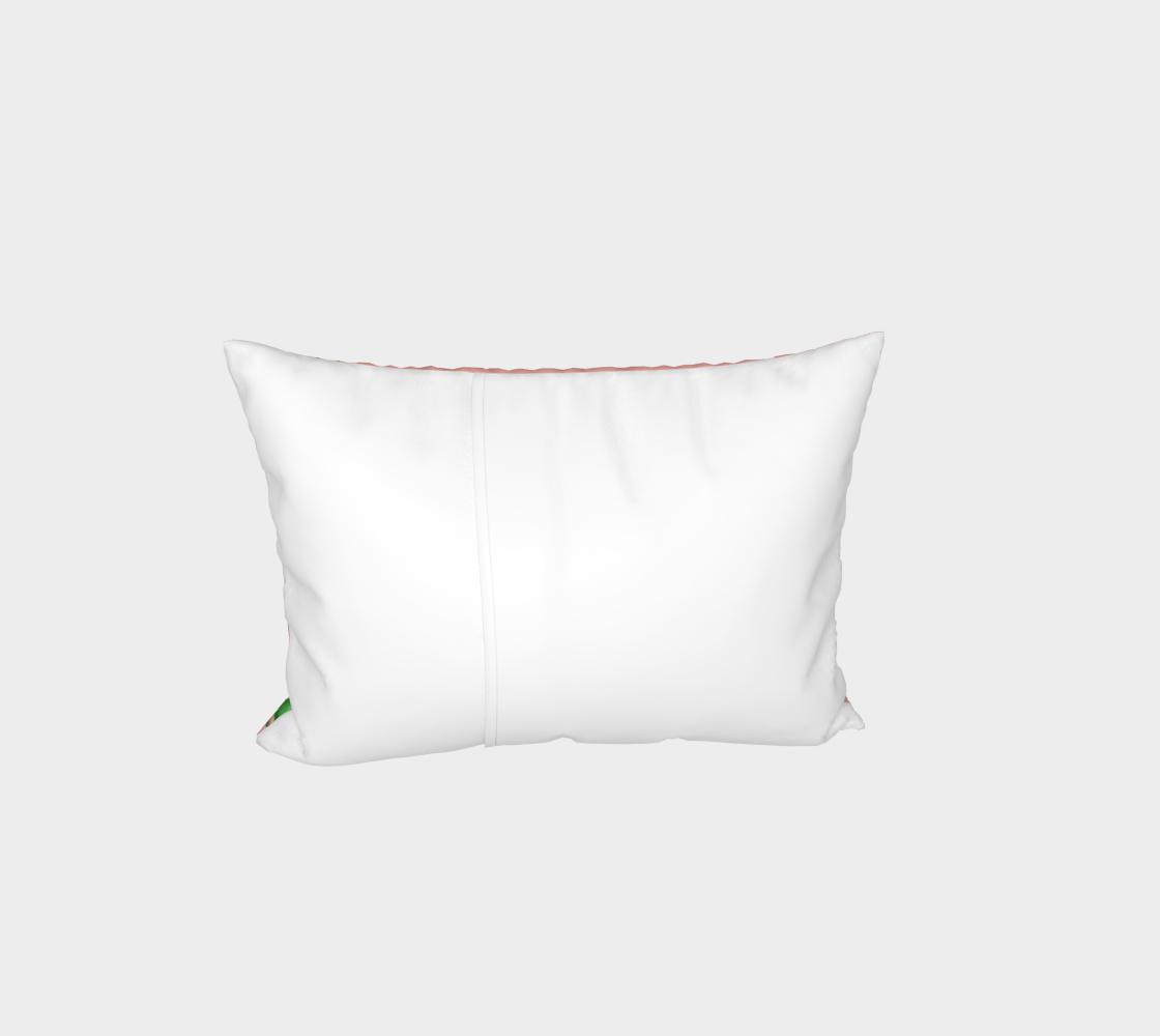 Fischer's lovebirds pattern Bed Pillow Sham preview #3