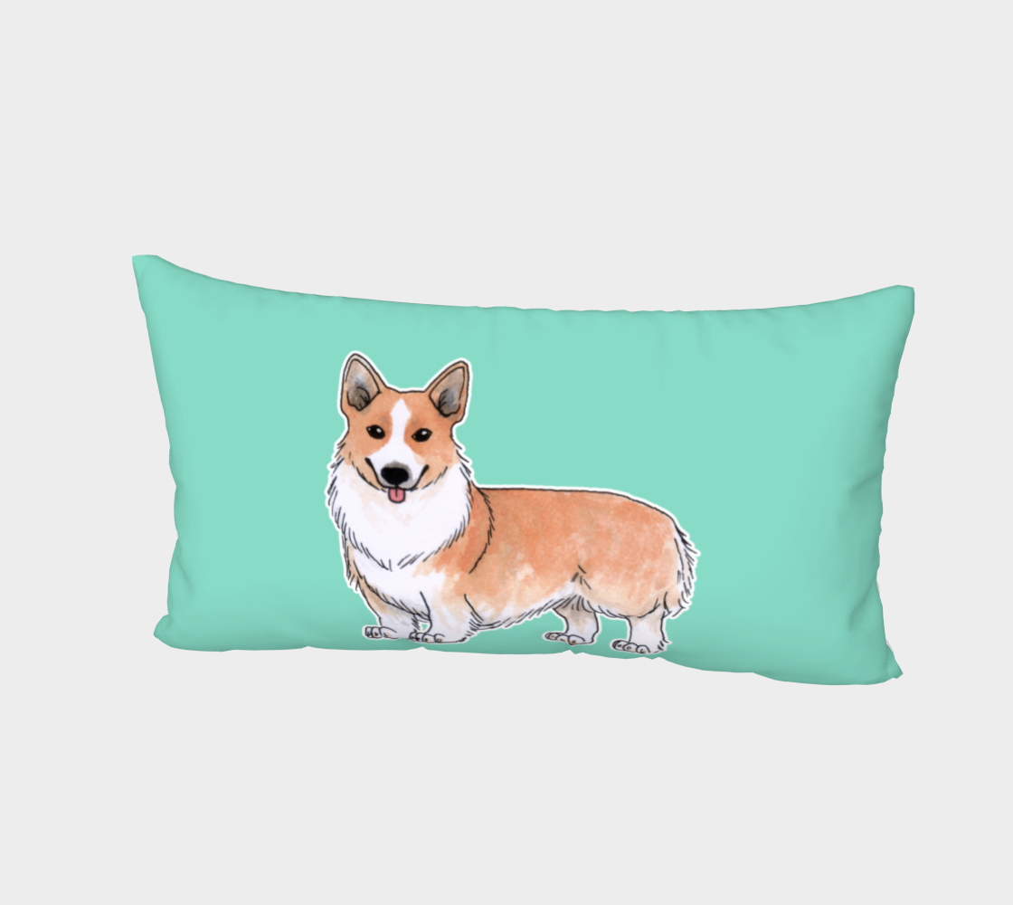 Welsh corgi dog Bed Pillow Sham thumbnail #3