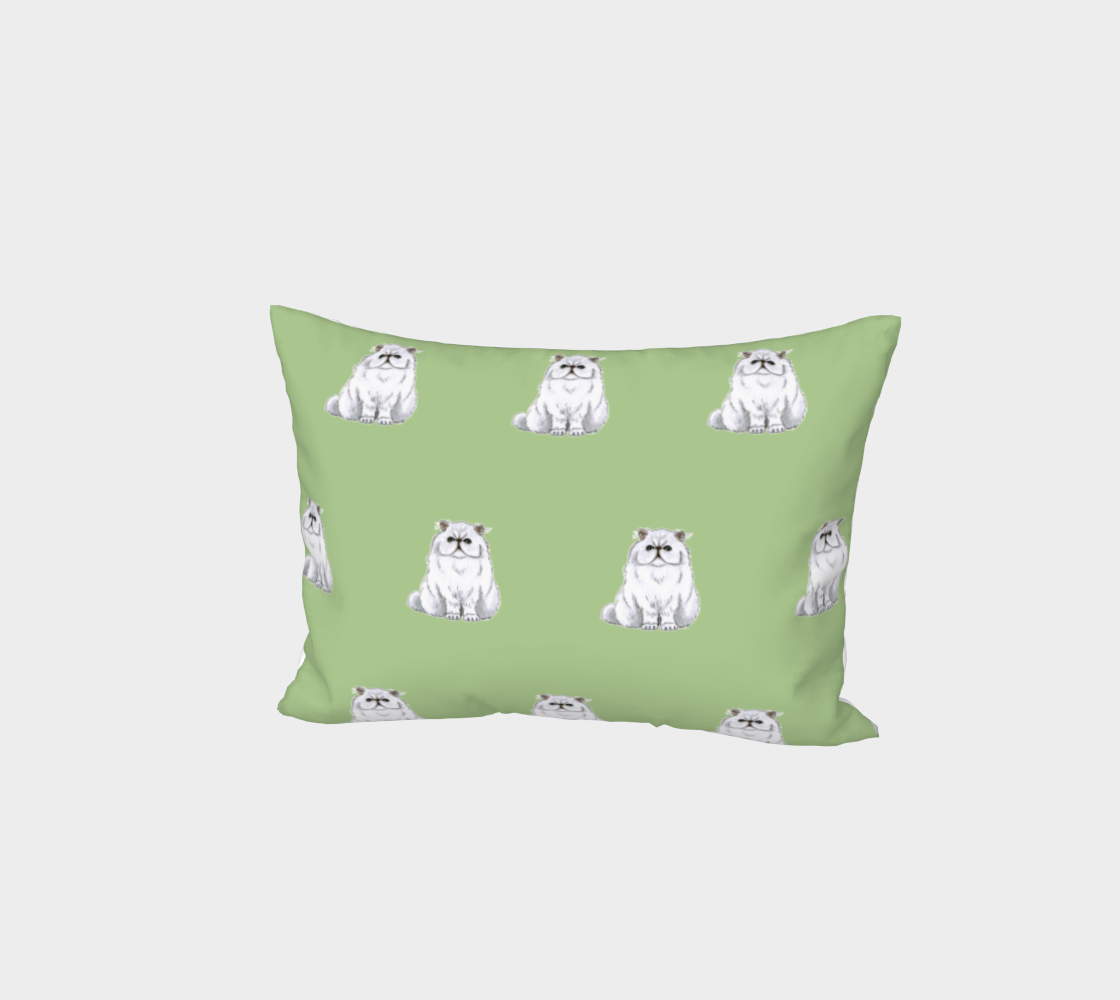 Persian cat pattern Bed Pillow Sham preview