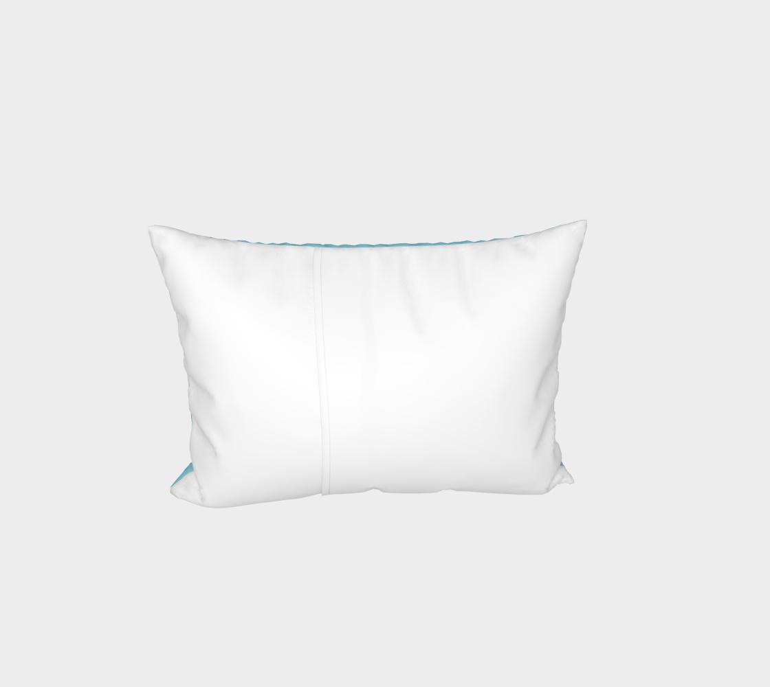 Aperçu de Sphynx cat portrait Bed Pillow Sham #3