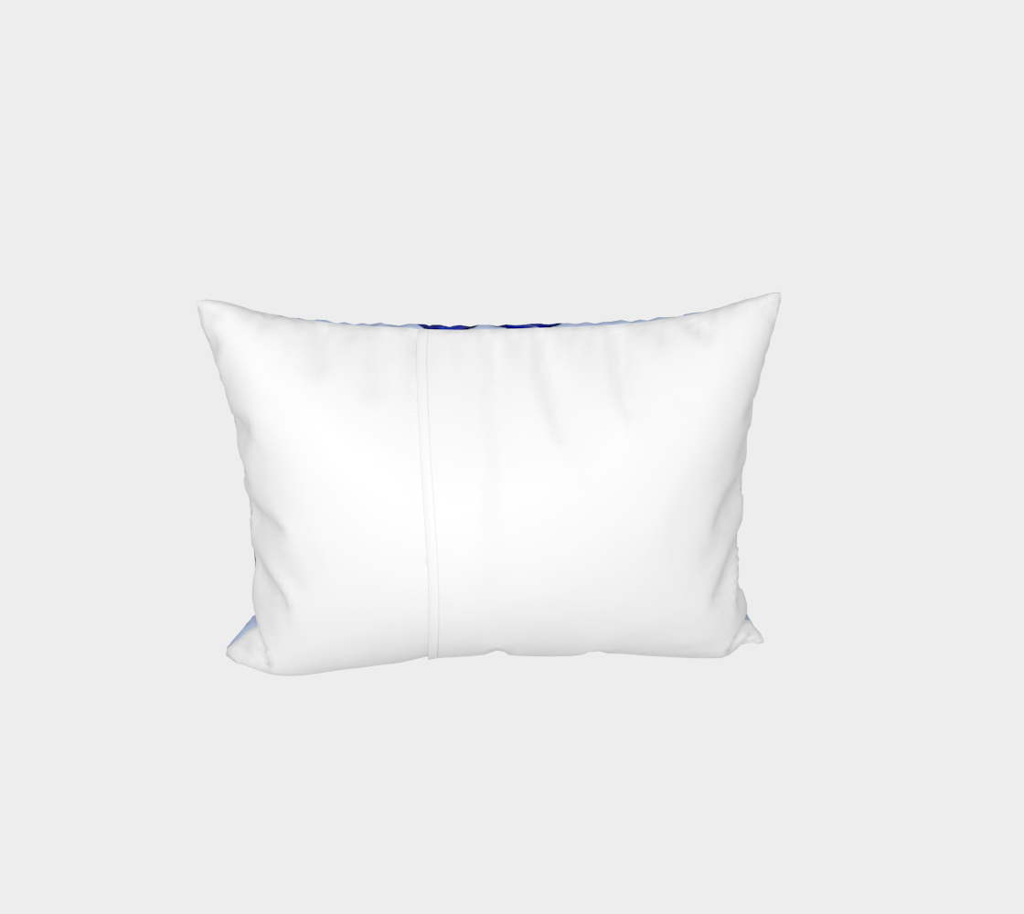 Astrological sign Aries constellation pattern Bed Pillow Sham preview #3