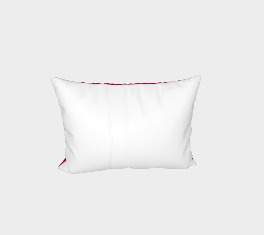 Monkey love pattern Bed Pillow Sham preview #3