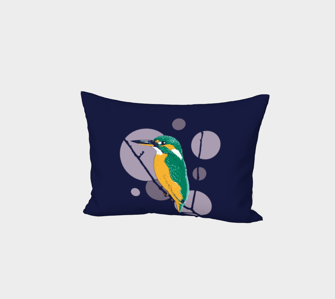 Kingfisher Bed Pillow Sham preview