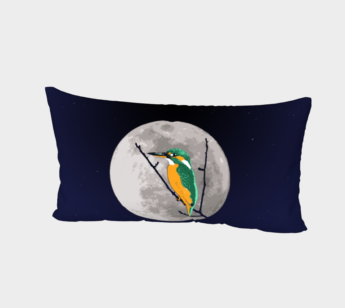Fly me to the moon Bed Pillow Sham preview #2