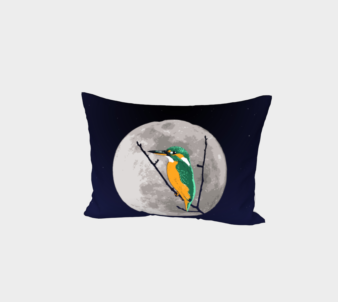 Fly me to the moon Bed Pillow Sham preview #1