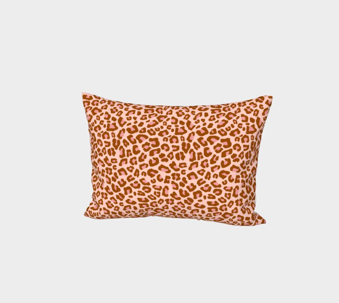 Leopard Print 2.0 - Caramel Blush Bed Pillow Sham preview