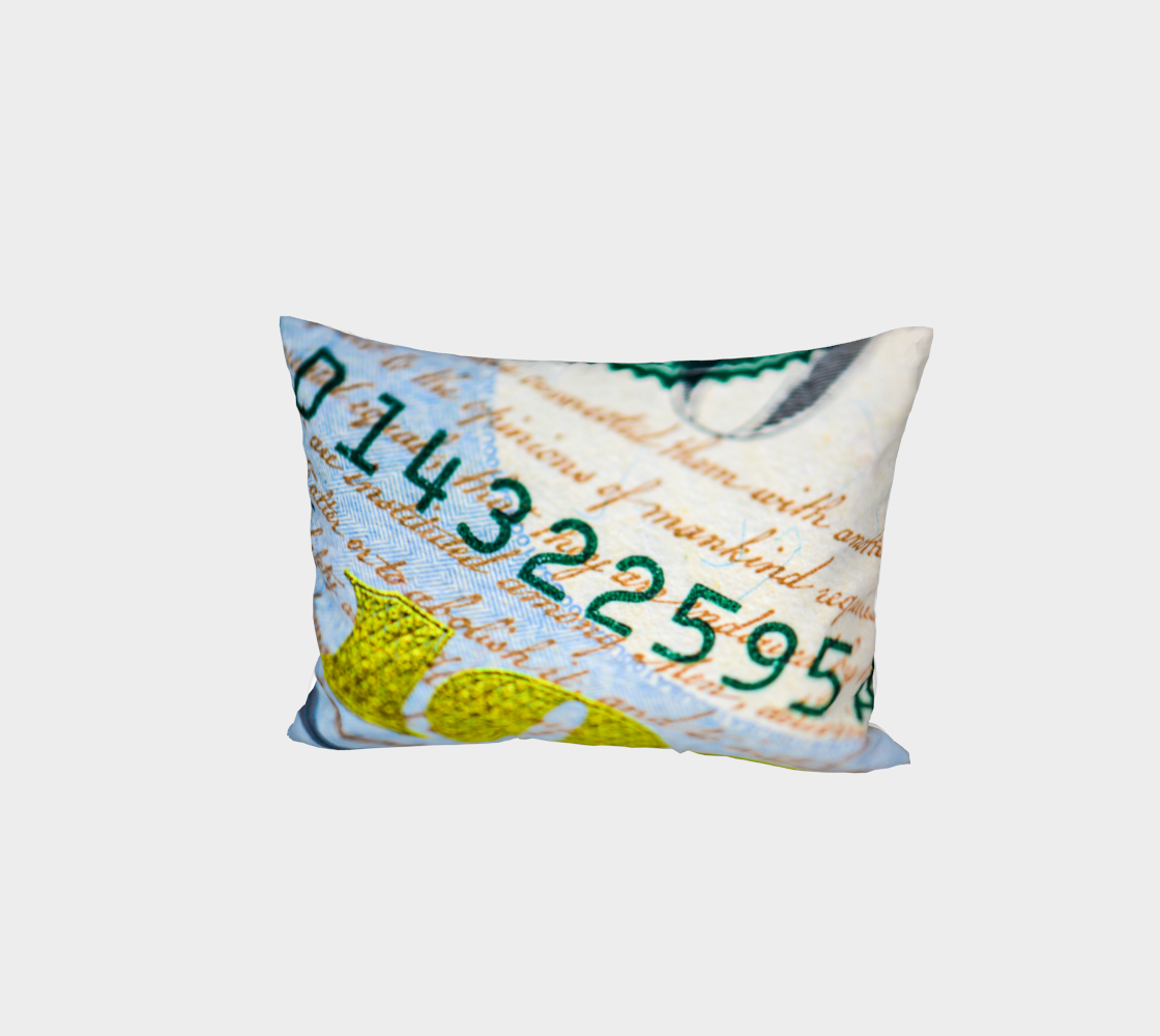 Money Down Bed Pillow Sham preview