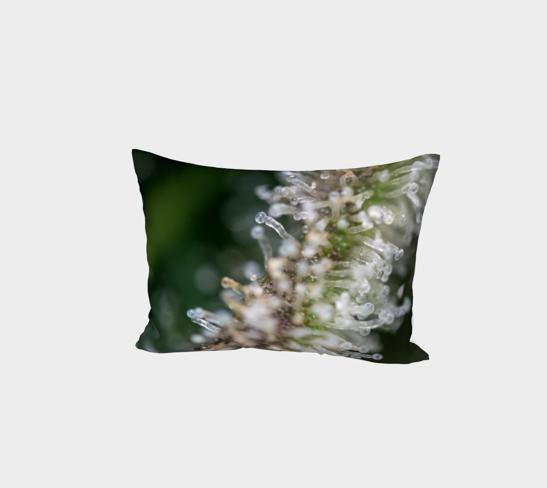 Trichomes & Terpenes Bed Pillow Sham preview