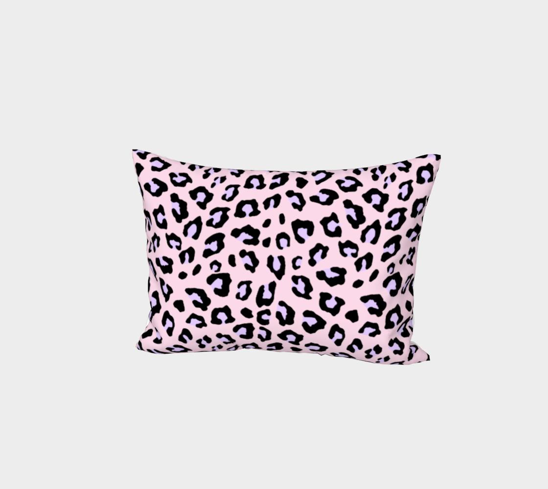 Leopard Print - Lavender Blush Bed Pillow Sham preview