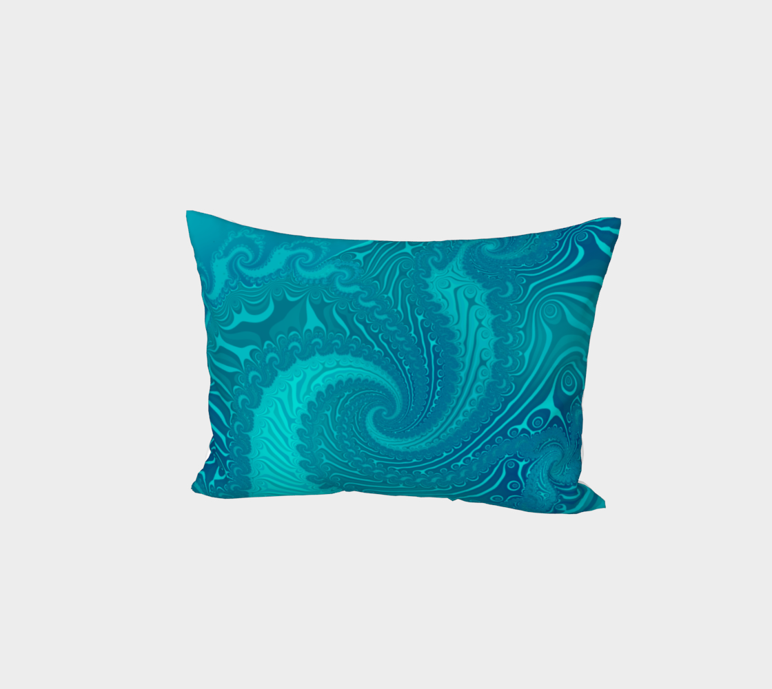 Ocean Waves Turquoise preview