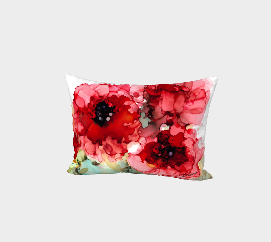 Poppies 1 Pillow Sham preview