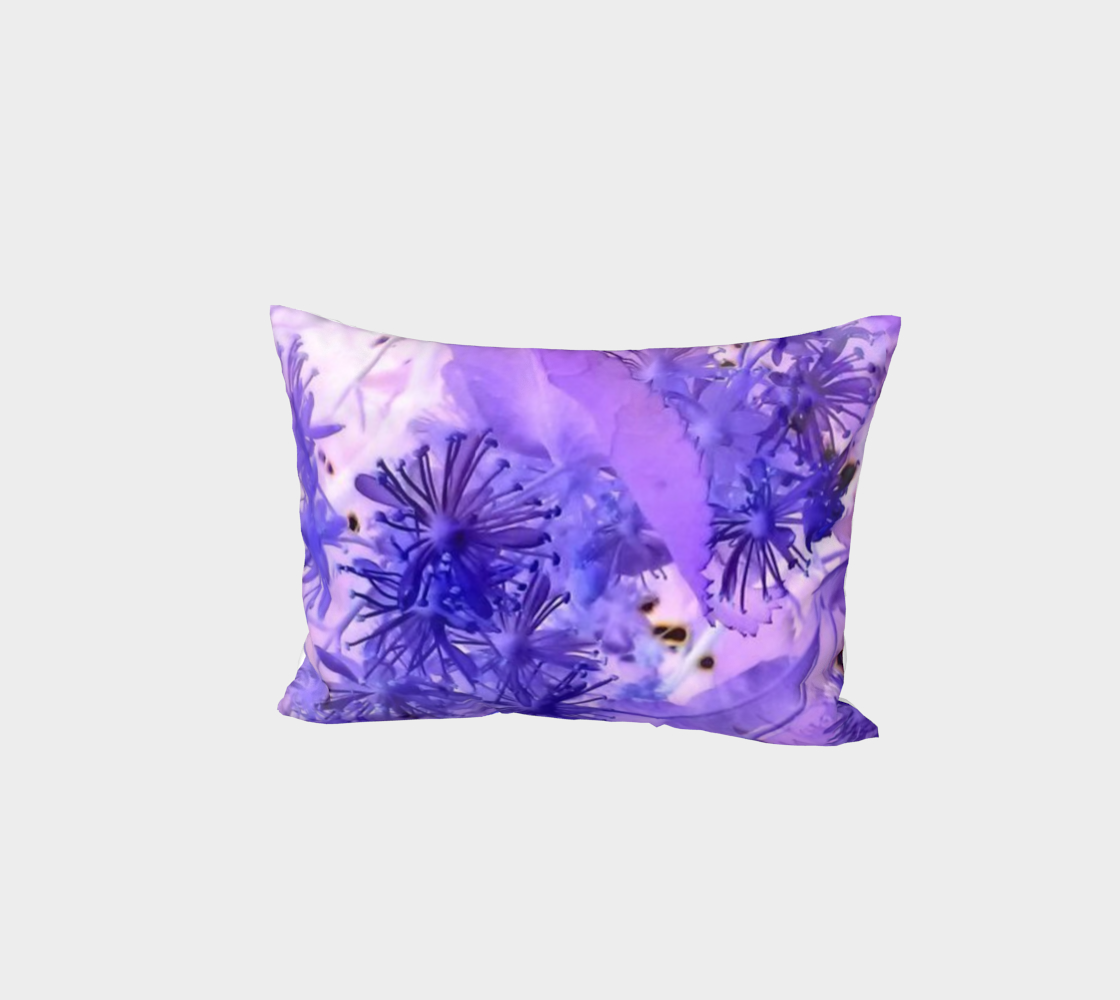 Purple outlandish flowers preview