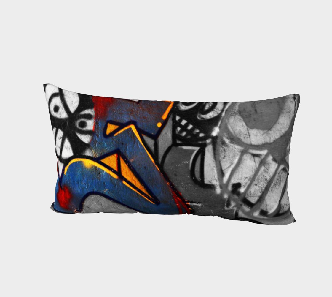 Graffiti 1 Bed Pillow Sham preview #2