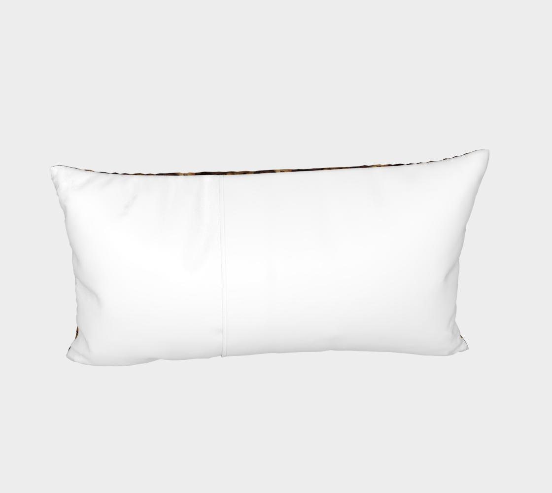Aperçu de Chocolate Chip Cookies Pattern Bed Pillow Sham #4