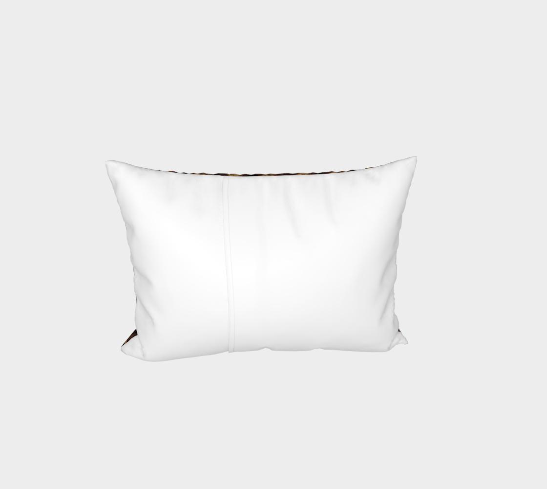 Aperçu de Chocolate Chip Cookies Pattern Bed Pillow Sham #3