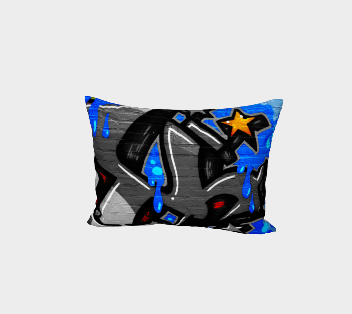 Graffiti 3 Bed Pillow Sham preview #1