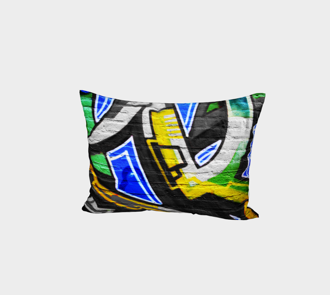 Graffiti 6 Bed Pillow Sham preview