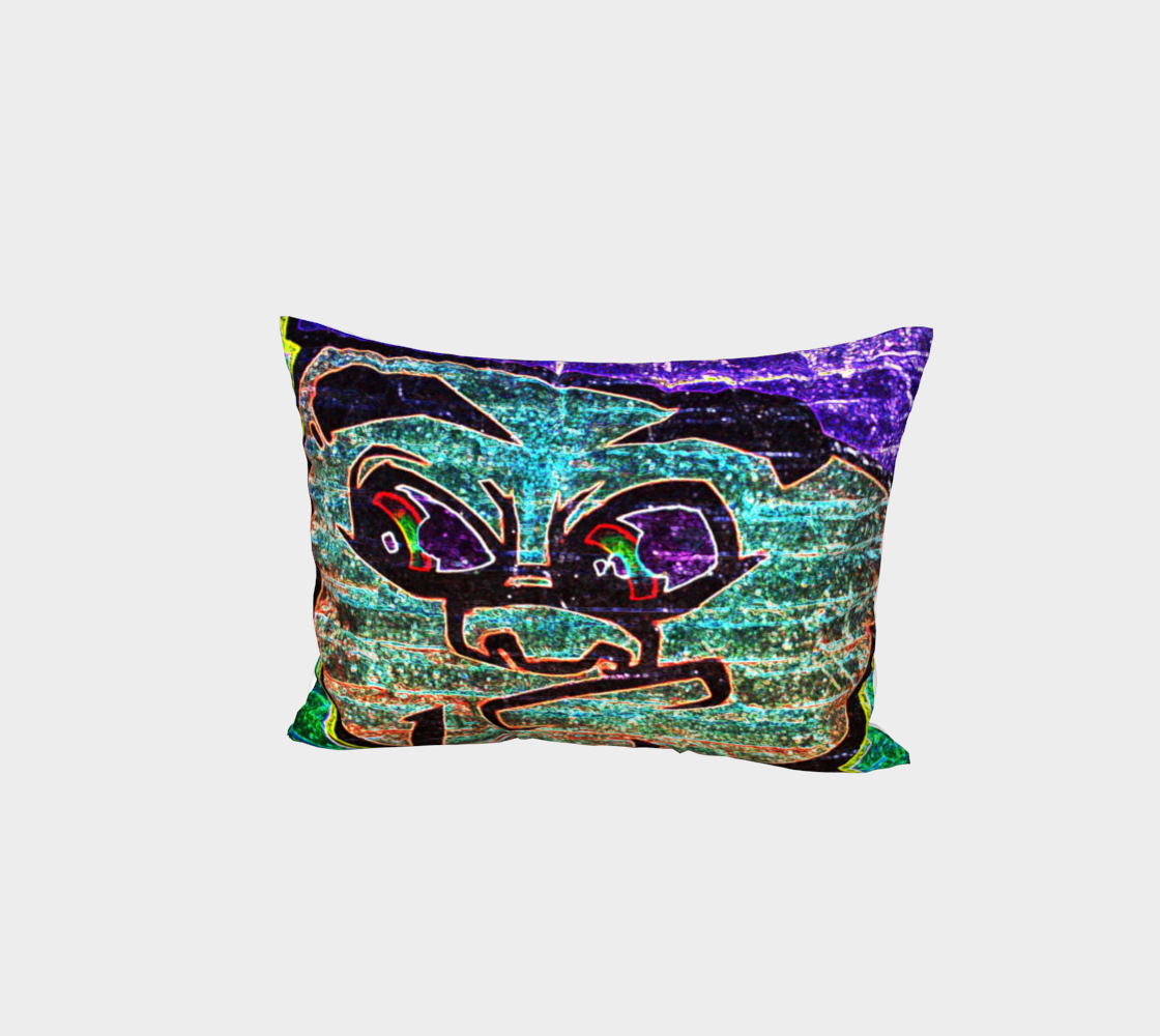 Graffiti 7 Bed Pillow Sham preview