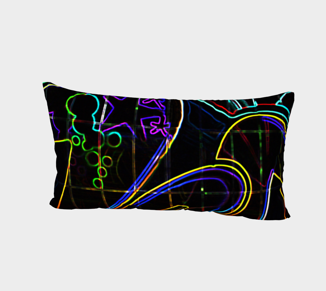 Aperçu de Graffiti 10 Bed Pillow Sham #2