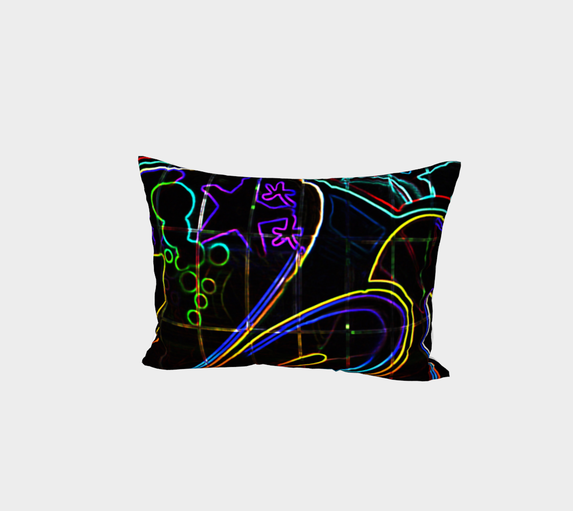 Graffiti 10 Bed Pillow Sham preview