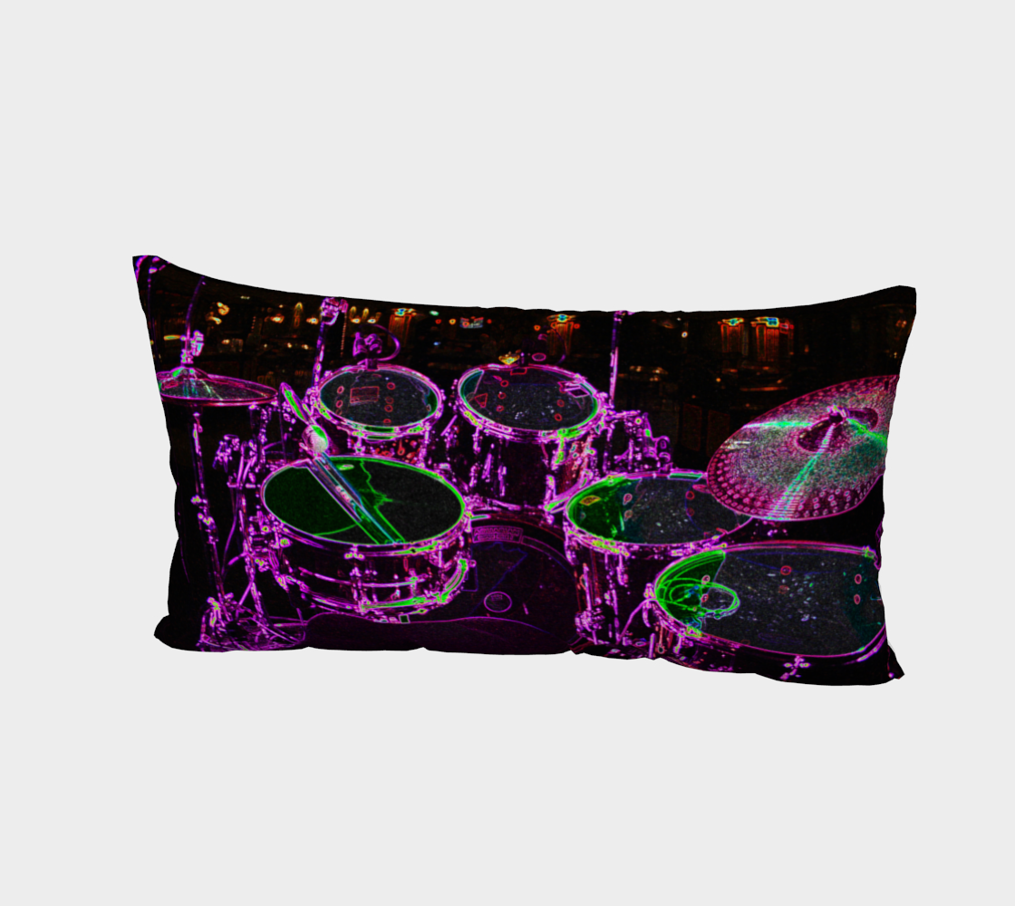 Drums Bed Pillow Sham preview #2