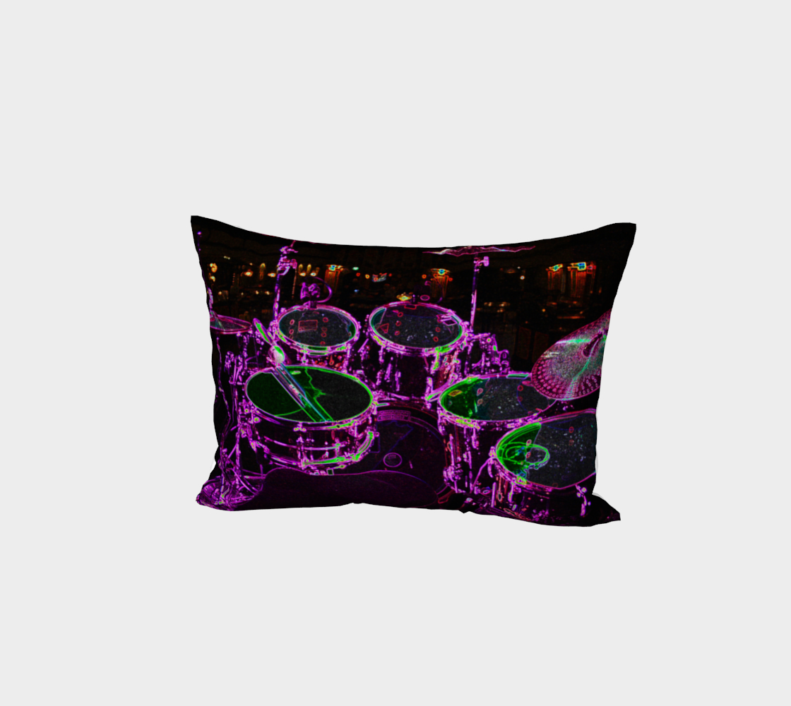 Drums Bed Pillow Sham preview