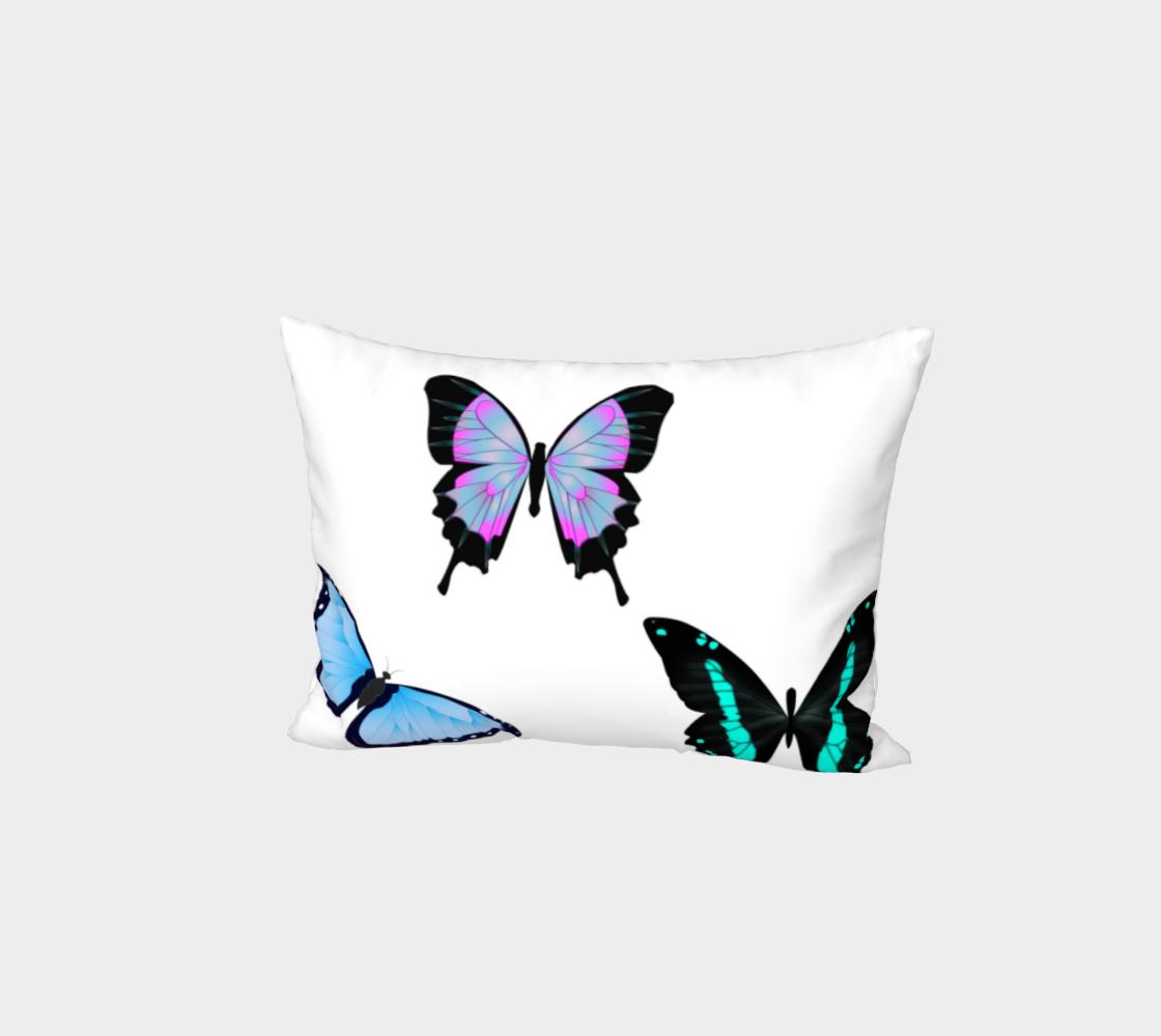 3 Butterflies Bed Pillow Sham preview