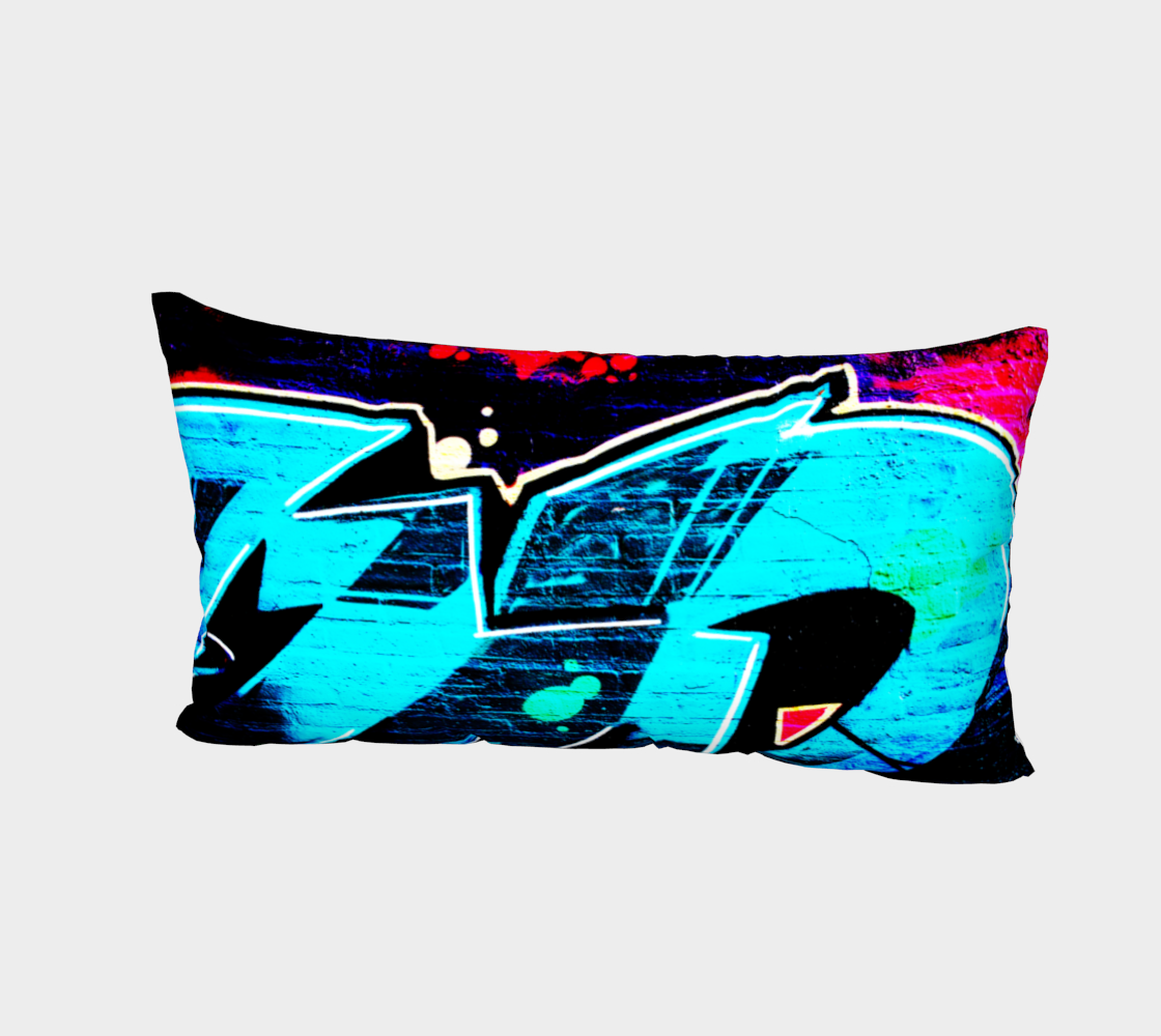 Graffiti 14 Bed Pillow Sham preview #2