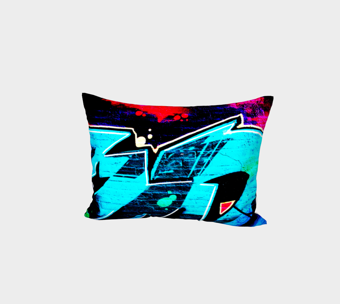 Graffiti 14 Bed Pillow Sham preview