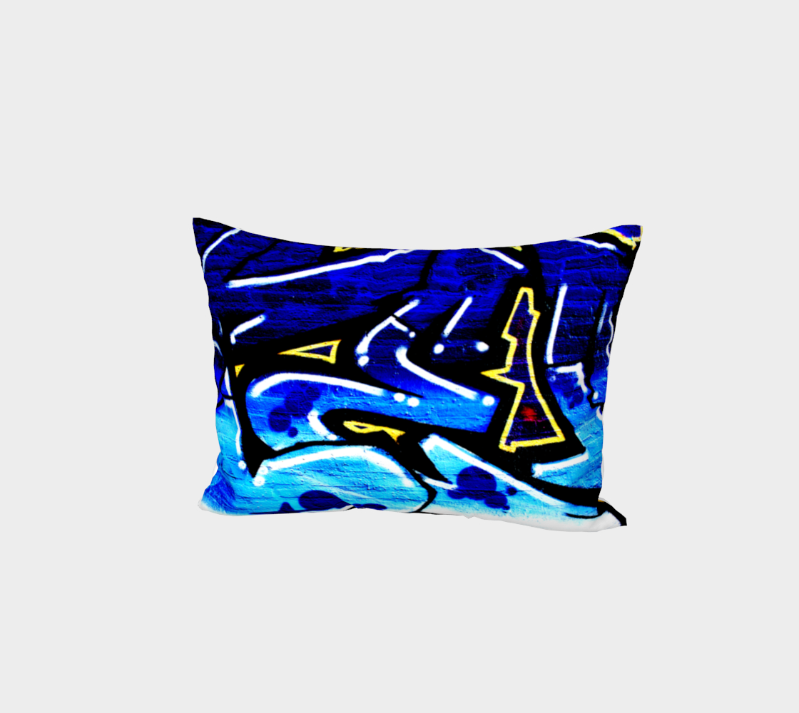 Graffiti 15 Bed Pillow Sham preview