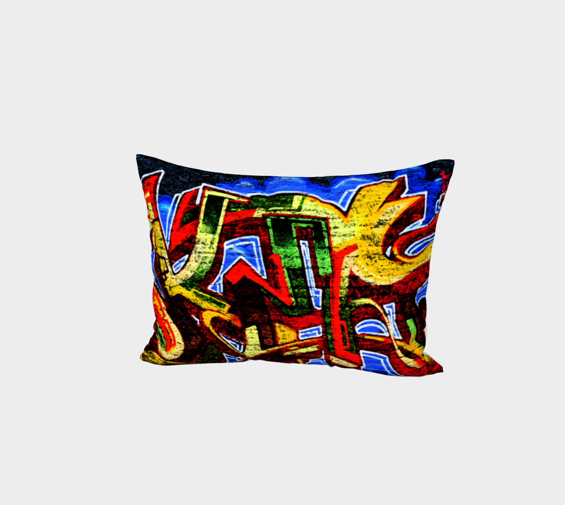 Graffiti 17 Bed Pillow Sham preview