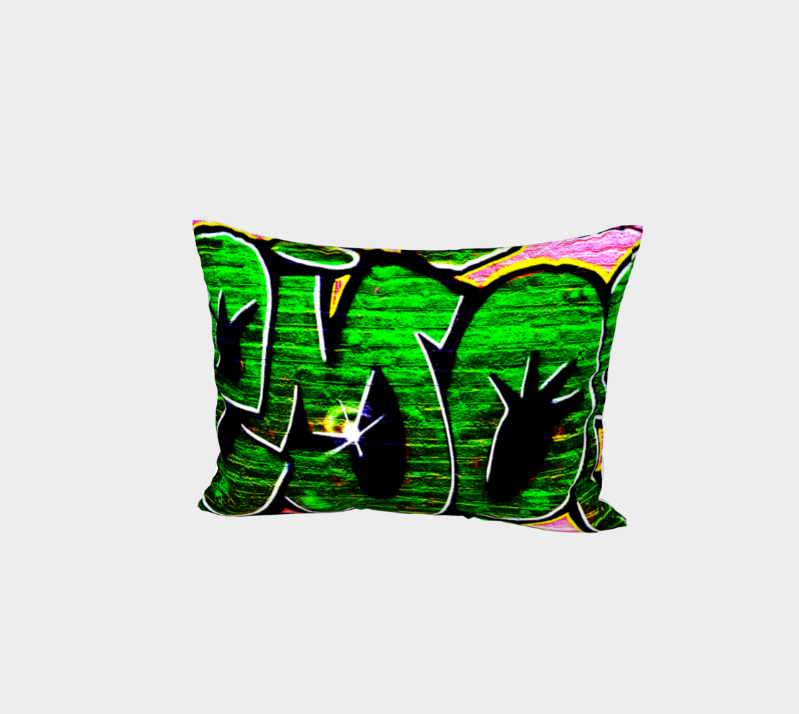 Graffiti 18 Bed Pillow Sham preview