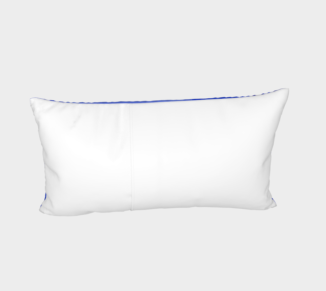 Blue is Better Bed Pillow Sham preview #4