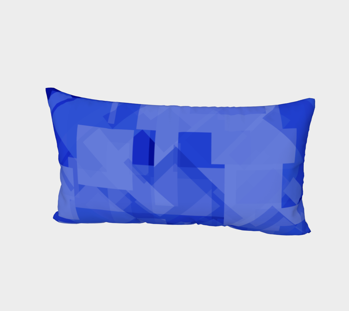 Blue is Better Bed Pillow Sham preview #2