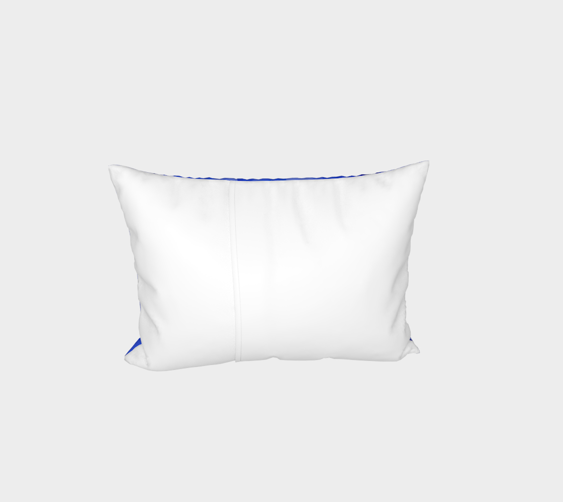 Blue is Better Bed Pillow Sham preview #3