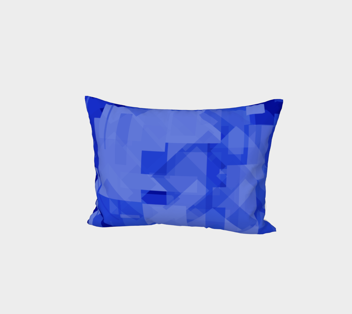 Blue is Better Bed Pillow Sham preview