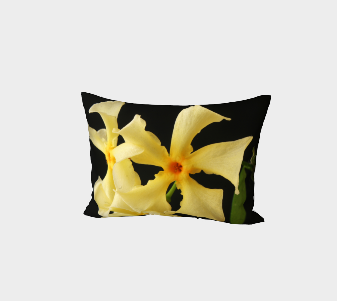 Star Jasmine Flower Bed Pillow Sham preview