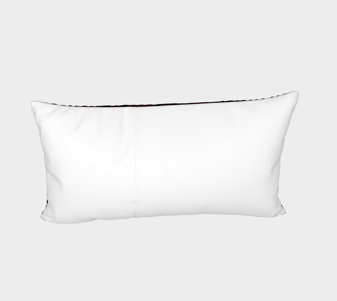 Aperçu de Vampire Pattern Bed Pillow Sham #4