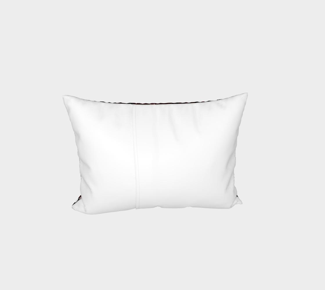 Aperçu de Vampire Pattern Bed Pillow Sham #3