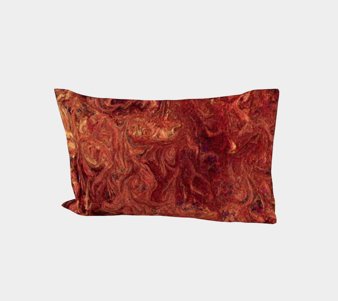 Lava Gold Cotton Pillow Sleeve aperçu